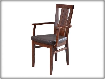 Concerto - Toscana - fa támlás, karfás szék